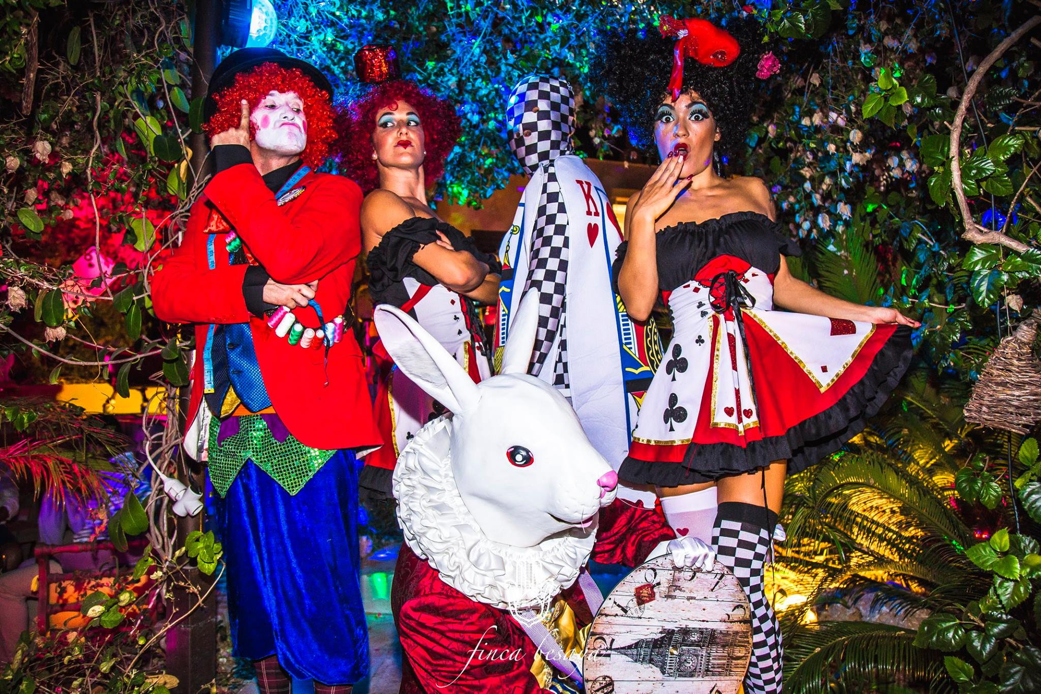 Alice in Wonderland crew